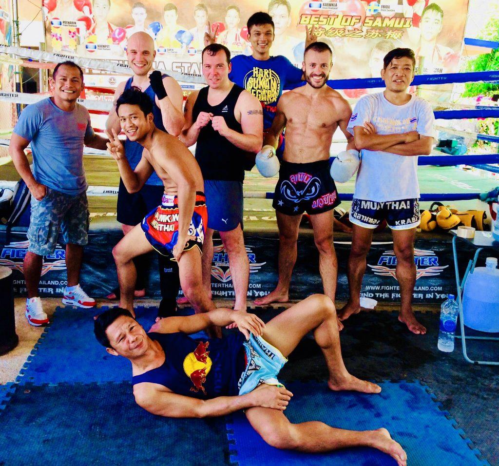 Muay Thaï - Chalamkaw team