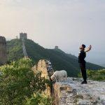 2 jours sur la grande muraille de Chine #groskiff